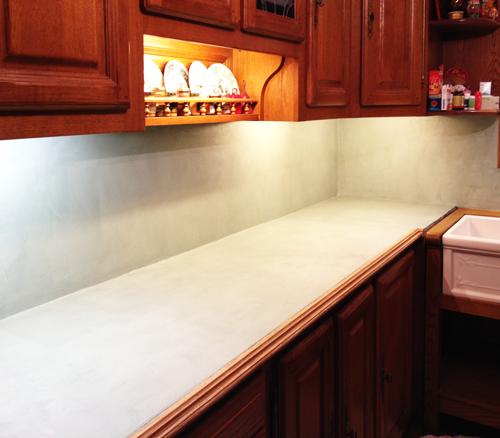 R novation de cuisine cl home d co for Renovation plan de travail cuisine beton cire
