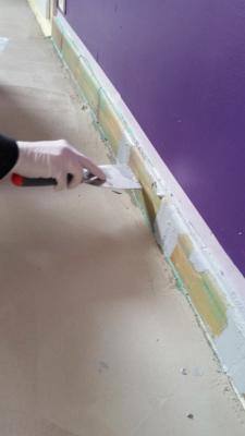 3 - le recouvrement des plinthes