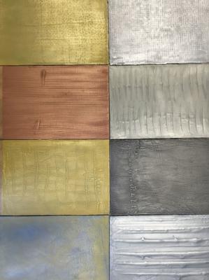 Palette des enduits à effet métallisé
