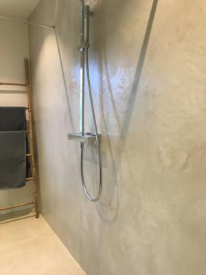 après / côté douche
